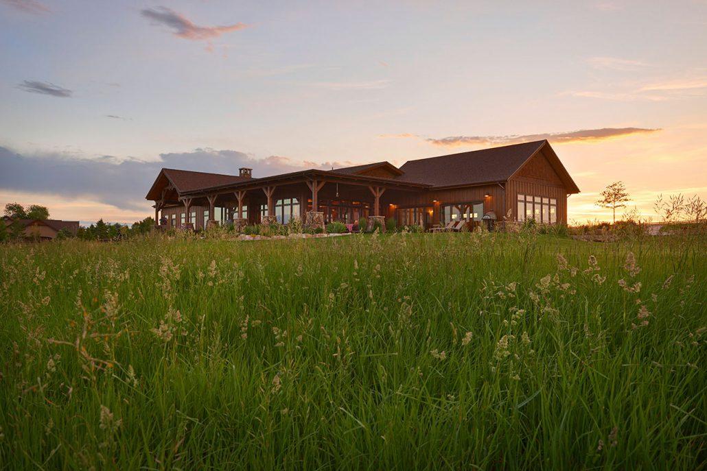 Back Porch Ranch Cornerstone Homes Colorado Custom