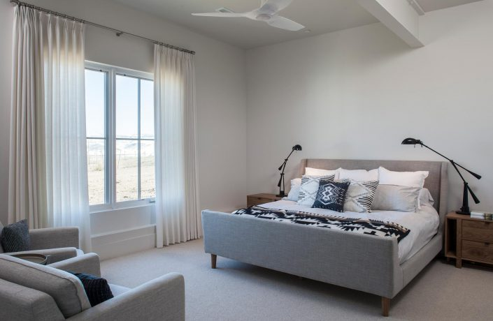 Koda Modern Farmhouse guest room