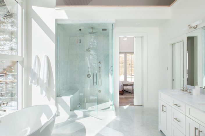 Koda Modern Farmhouse master bathroom