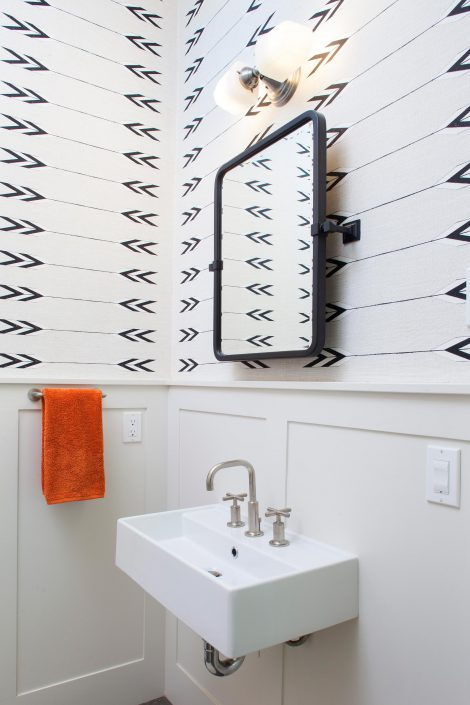 Koda Modern Farmhouse powder room