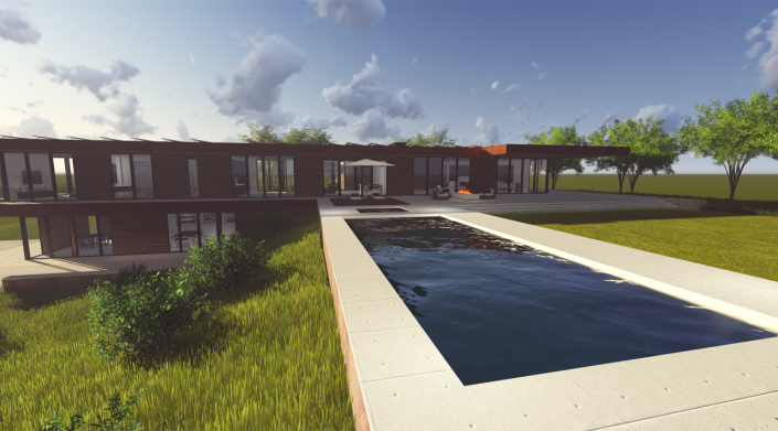 Cornerstone Homes T house rendering3