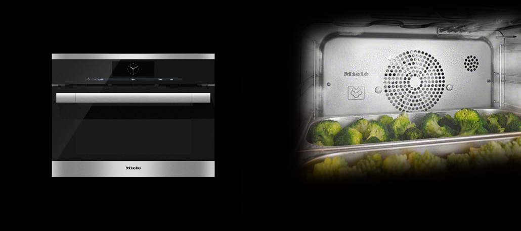 Miele combi steam appliance