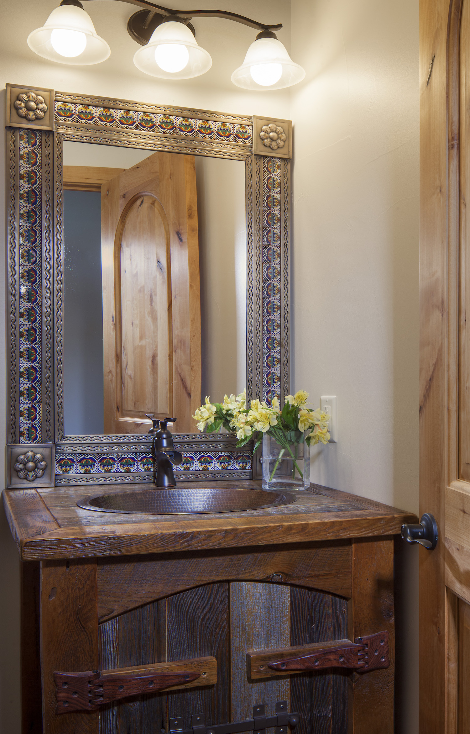 Cornerstone Homes Coal Creek powder room