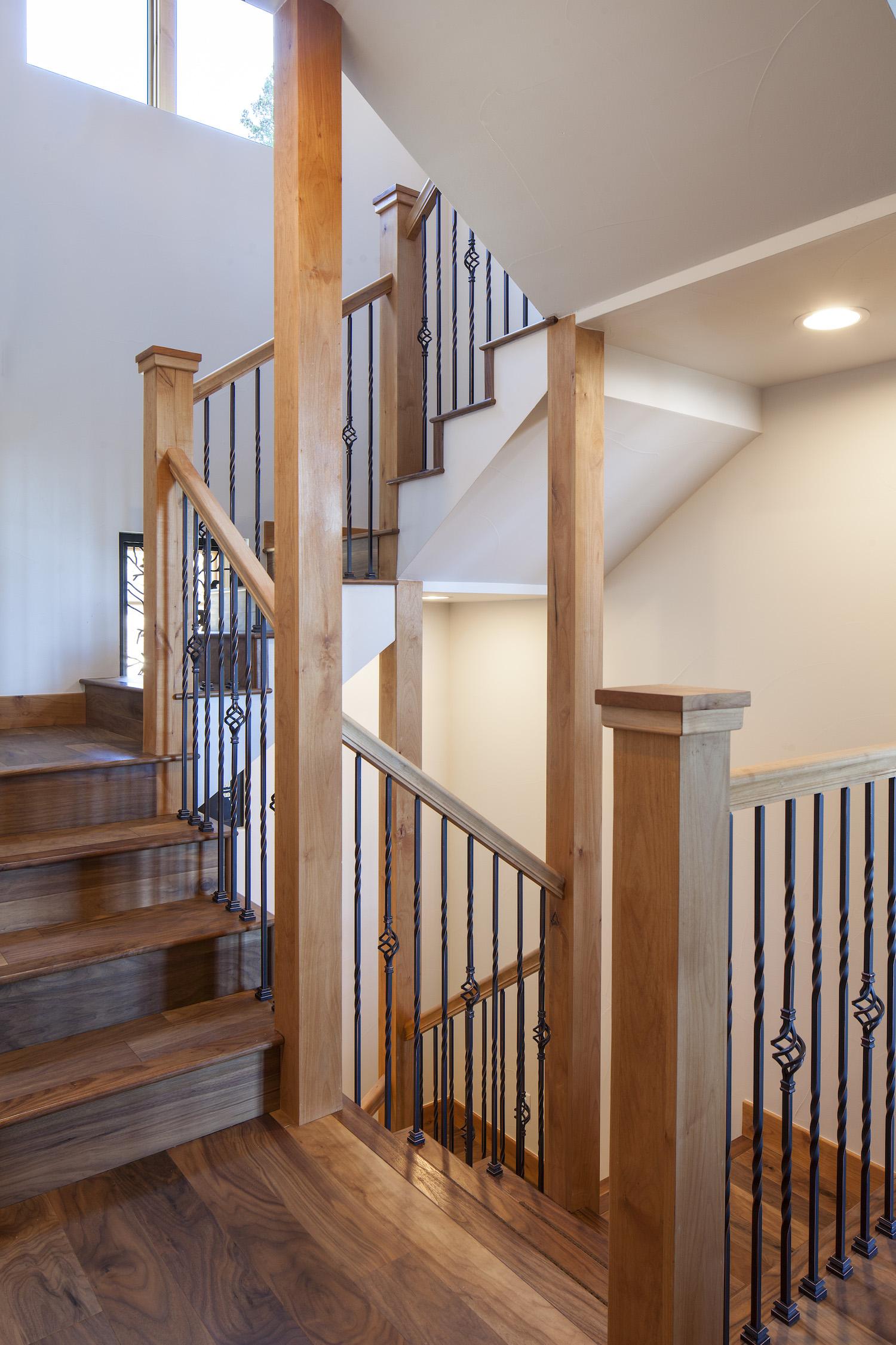 Cornerstone Homes Coal Creek stairs