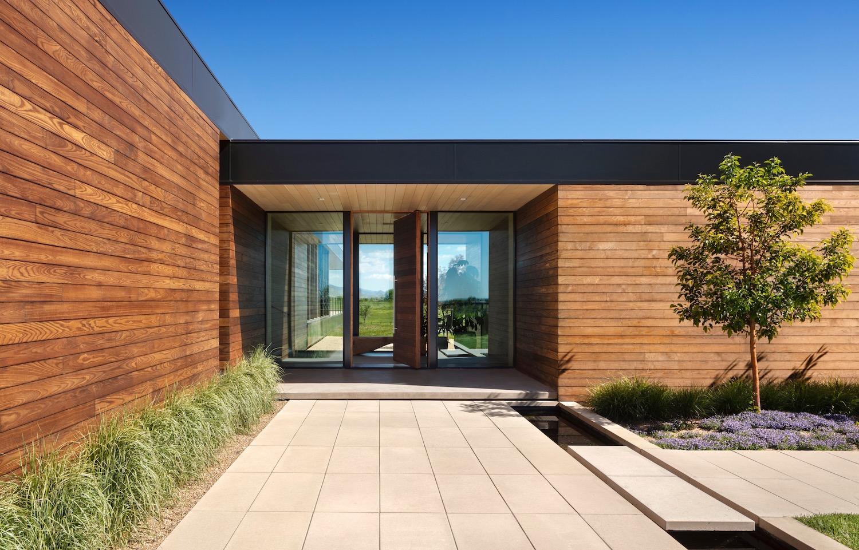 Cornerstone Homes_T House_front door