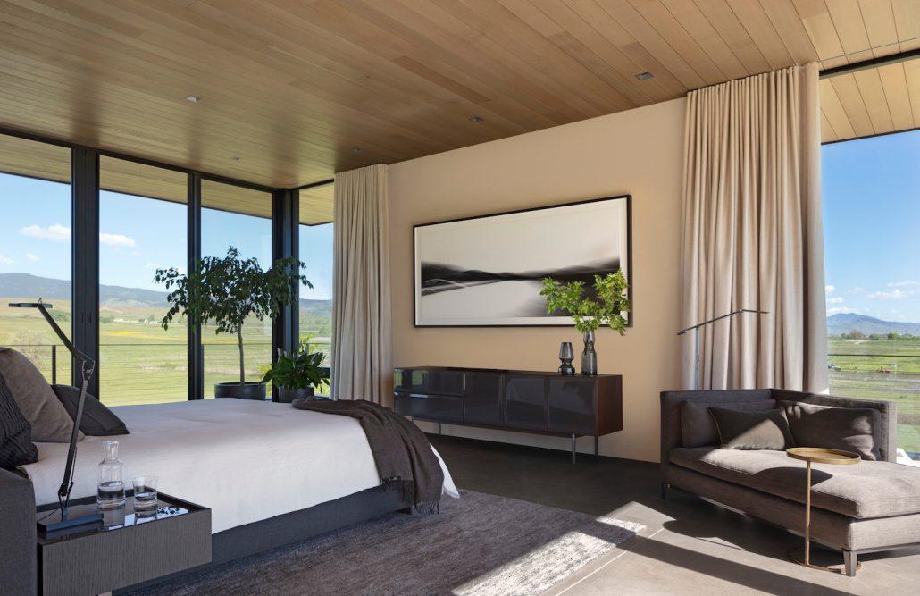 Cornerstone Homes_T House_master bedroom