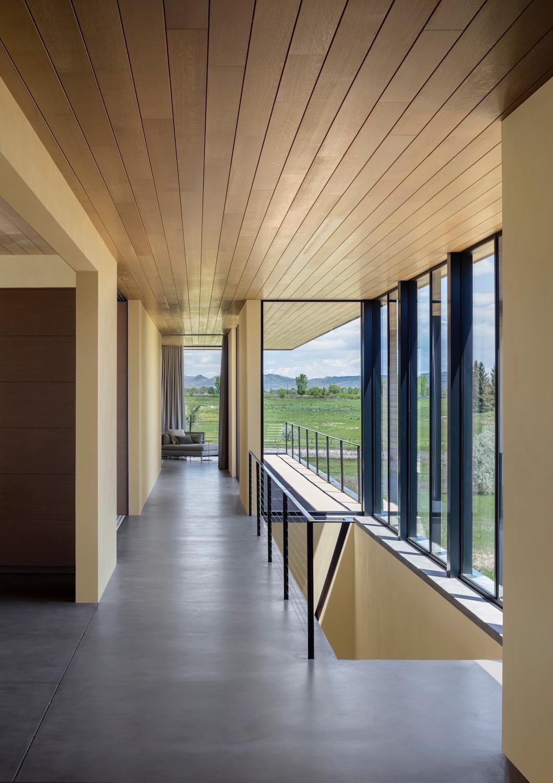 Cornerstone Homes_T House_hallway