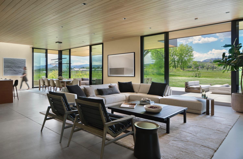 Cornerstone Homes_T House_living room